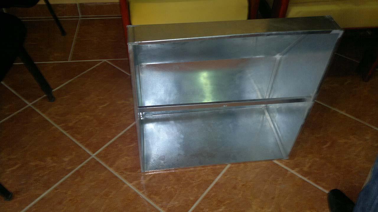 Production plenums box